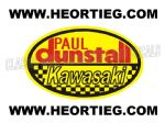 Paul Dunstall Kawasaki Tank and Fairing Transfer Decal DDUN7-7
